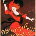Реклама абсента от дизайнера Leonetto Capiello