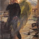 Альберт Меньян — «Зеленая муза» 1895 год (Albert Maignan — La muse vert )