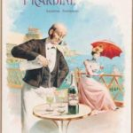 Плакат, реклама абсента  Picardine
