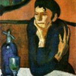 Пабло Пикассо  «Женщина, пьющая абсент»