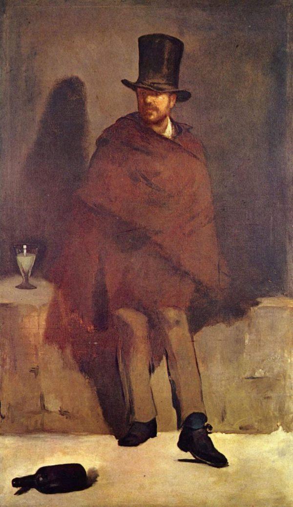 Эдуарда Мане «Любитель абсента»